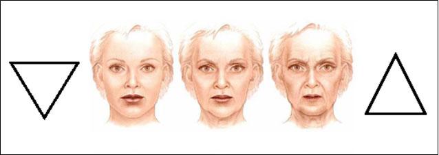 Le vieillissement du visage